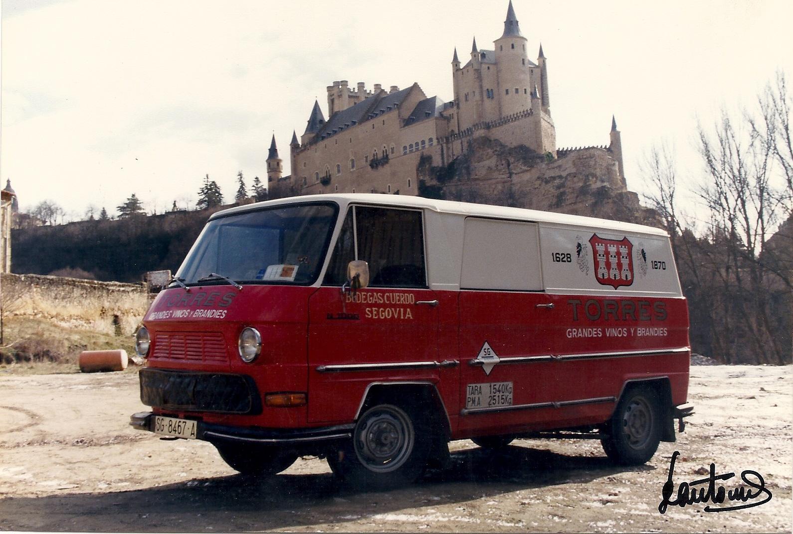 Con el Alcazar de Segovia