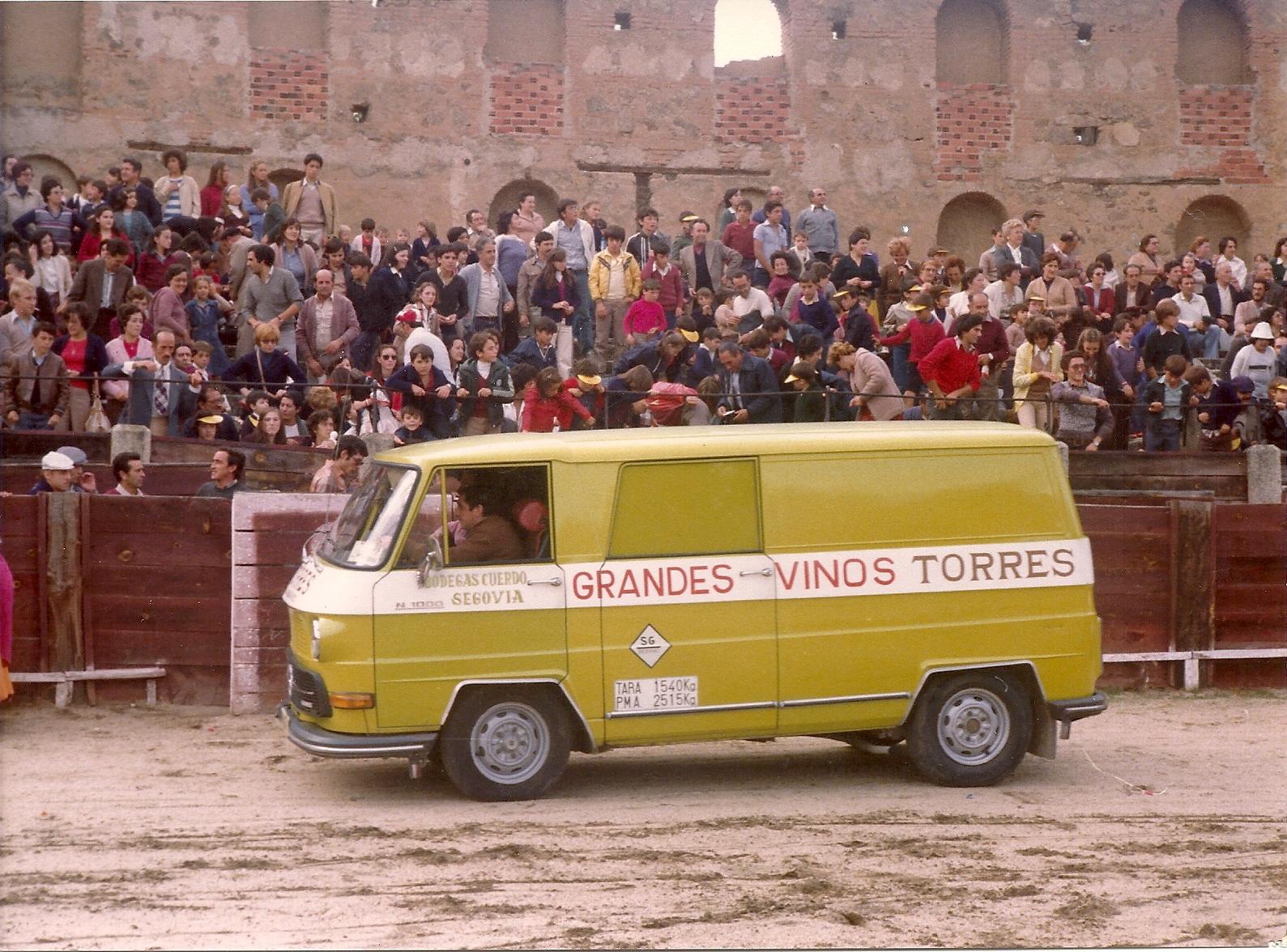 Plaza de Toros Segovia en la Fiesta de los Camareros